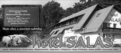 Restaurace HOTEL SALAŠ v Šenově u Nového Jičína - Stránky se otevřou do nového okna