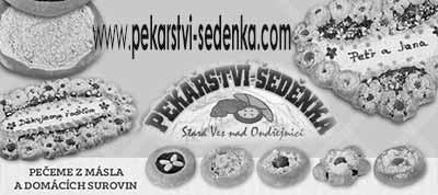 Pekařství Šeděnka ve Staré vsi nad Ondřejnicí - Stránky se otevřou do nového okna